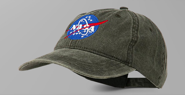 01.-NASA-Insignia-Embroidered-Pigment-Dyed-Cap - The Best Hat f50a91c23531