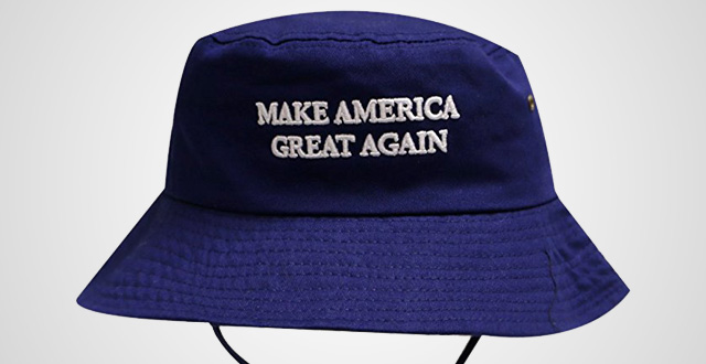 Bd2024-Trump-Slogan-Make-America-Great-Again-Bucket-Hat-with-String-Navy 29edbc1307b