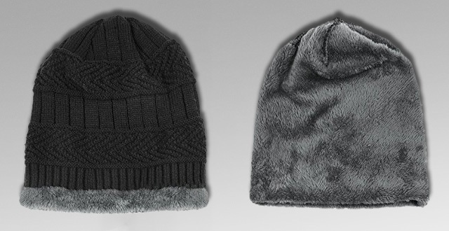 38a5c6b0949 12.-Vbiger-Beanie-Hat-Scarf-Set-Knit-Hat-Warm-Thick-Winter-Hat-for ...