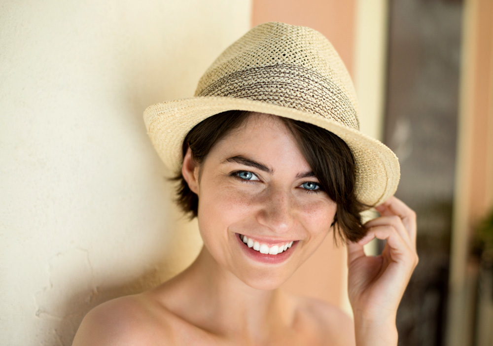 5b12a766c3b How To Wear A Hat With Short Hair - Useful Tips For A Woman - The ...