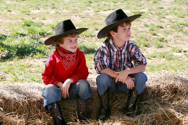 Kids Cowboy Party Hats