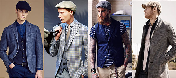 15e9b826 As I mention above, a flat cap would go well with the clothes you put on in  the spring and fall. You would see many celebrities wearing a flat cap  along ...