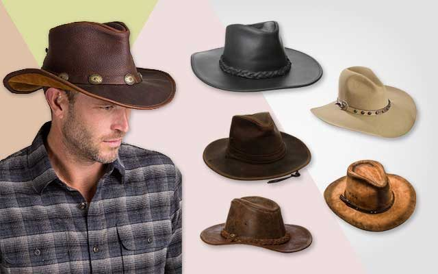 Top 10 Leather Cowboy Hats In 2018 - The Best Hat 2cbcf070bc2