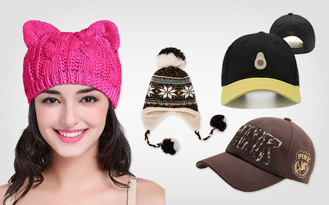 Unisex Beanie Hat Avocado Embroidery Hats for Women Men Knitted Hats Acrylic Flexible Cap