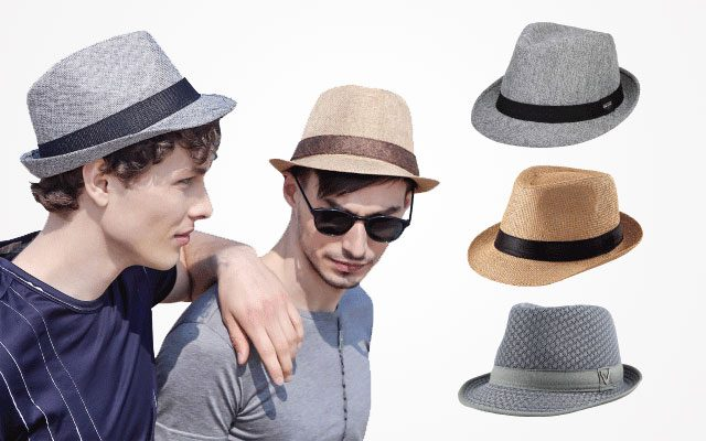 2019 Top Fashion Casual Men Hat Summer Straw Male Hat Wide Brim Gentleman Fedoras Hats